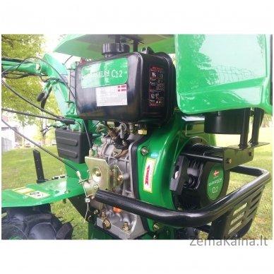 Motoblokas GREEN C12 (7AG) 5