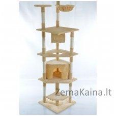 Namas-draskyklė katėms CAT093 Beige