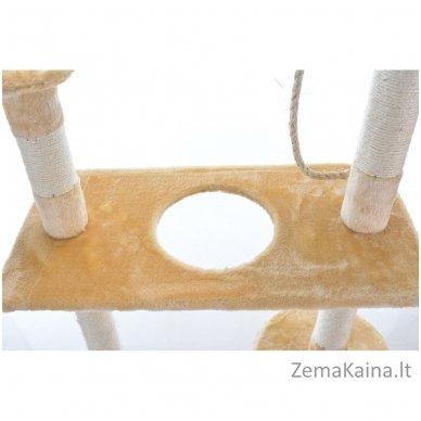 Namas-draskyklė katėms CAT215 Beige 4