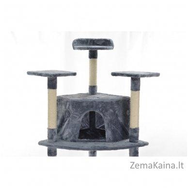 Namas-draskyklė katėms FD670 Grey 2