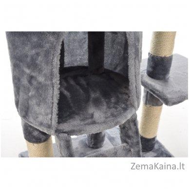 Namas-draskyklė katėms KMB004A Grey 2