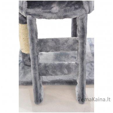 Namas-draskyklė katėms KMB004A Grey 3