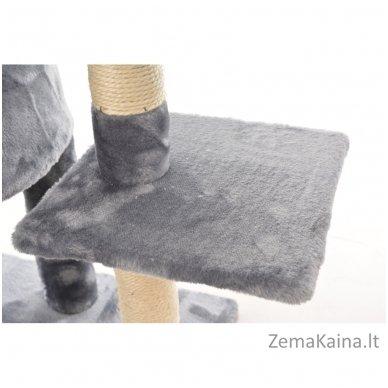 Namas-draskyklė katėms KMB004A Grey 4