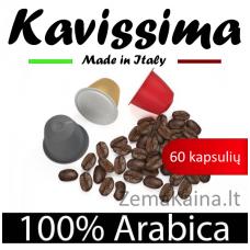 Nespresso KAVISSIMA kavos kapsulių rinkinys, 60 kavos kapsulių