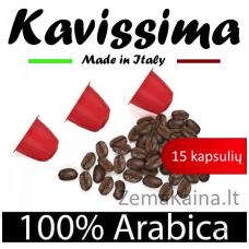 Nespresso KAVISSIMA kavos kapsulių rinkinys, 15 kavos kapsulių