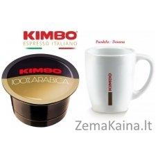 KIMBO 100% Arabica kavos kapsulių rinkinys, 96 vnt.