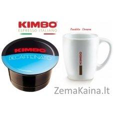 KIMBO Decaffeinato, kavos kapsulių rinkinys, 96 vnt.