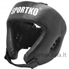 Odinis bokso šalmas SportKO OK1 - Black M