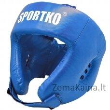 Odinis bokso šalmas SportKO OK2 -  Blue  L