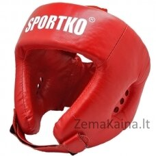 Odinis bokso šalmas SportKO OK2 - Red L