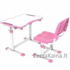 """""""Olea Pink """" - rašomasis stalas su kėdute vaikams"""