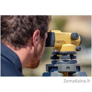 Optinis nivelyras Topcon AT-B4A 6