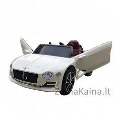 Originalus baltas elektromobilis BENTLEY