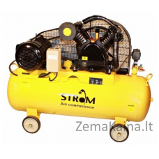 Oro kompresorius STROM 200L, 380V (V-0.6/12.5)
