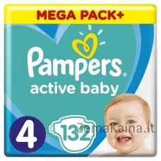 Pampers ABD Mega Pack Plus Maxi S4 132 pc(s)