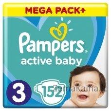 Pampers ABD Mega Pack Plus Midi S3 152 pc(s)
