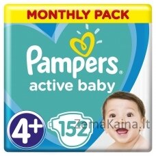 Pampers ABD Monthly Box S4+ 152 pc(s)