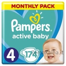 Pampers ABD Monthly Box S4 174 pc(s)