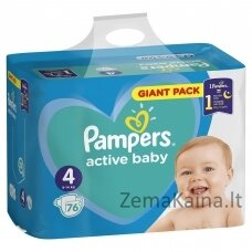 Pampers Active Baby Maxi 4 76 pc(s)