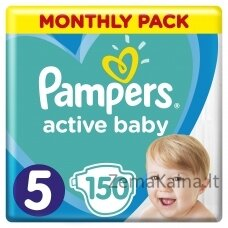 Pampers 5  Active-Baby Monthly Box 150 pc(s)