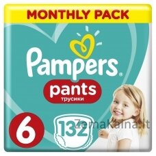 Pampers Pants ABD MSB S6 132 pc(s)