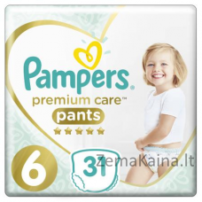 Pampers Premium Care 6 Extra Large High PANTS 31 pc(s)
