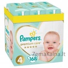 Pampers Premium Care Monthly Box Berniukams / mergaitėms 4 168 vnt
