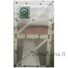 Papildomos durys šiltnamio gale (kaip priekyje) KLASIKA