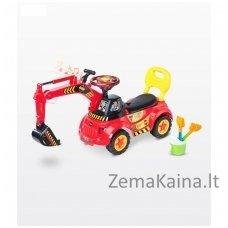 Paspiriamoji mašinėlė Caretero Scoop Red/Yellow