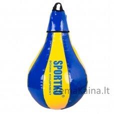 Pasunkinta greičio kriaušė SportKO GP1 40cm 5kg - Blue-Yellow