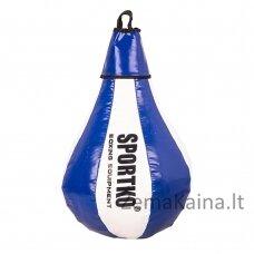 Pasunkinta greičio kriaušė SportKO GP1 40cm 5kg - White-Blue