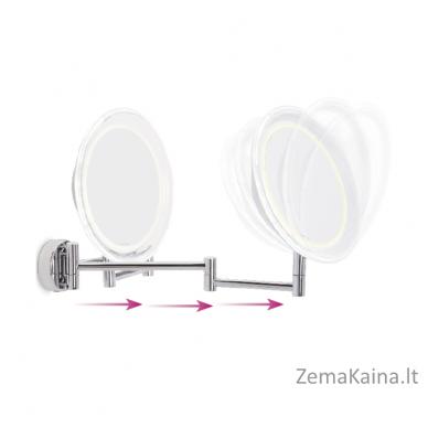 Padidinamasis veidrodis LANAFORM x10 su LED apšvietimu 2