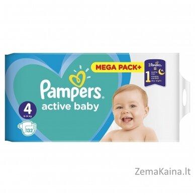 Pampers ABD Mega Pack Plus Maxi S4 132 pc(s) 2