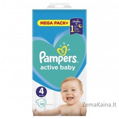 Pampers ABD Mega Pack Plus Maxi S4 132 pc(s) 3