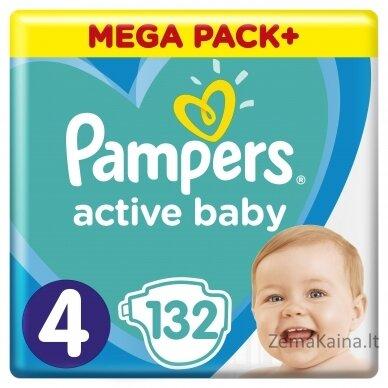 Pampers ABD Mega Pack Plus Maxi S4 132 pc(s)