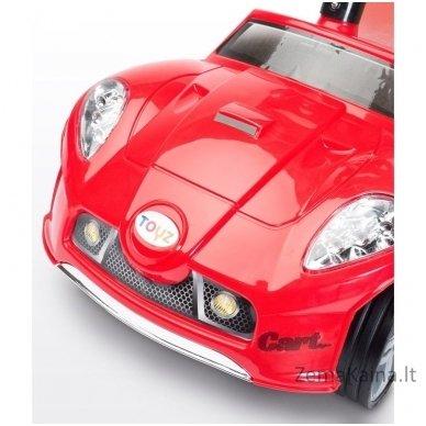 Paspiriamoji mašinėlė Caretero Cart Red 3
