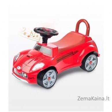 Paspiriamoji mašinėlė Caretero Cart Red