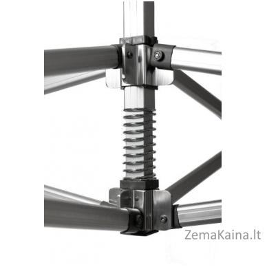 Pavėsinė 3 x 4.5 m N serijos aliuminio konstrukcijos 2