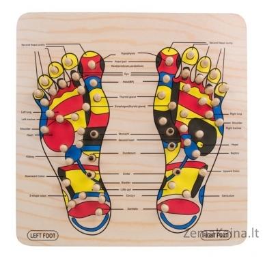 Pėdų taškinio masažo lenta inSPORTline Ashiqua 2