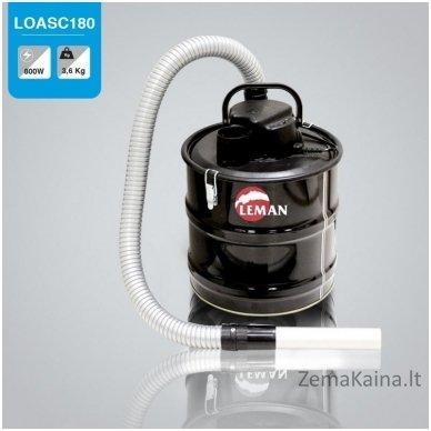 Pelenų siurblys Leman LOASC180 (karštiems pelenams) 2