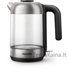Philips 5 HD9339/80 1,7 l, nuimamas dangtis, stiklinis virdulys