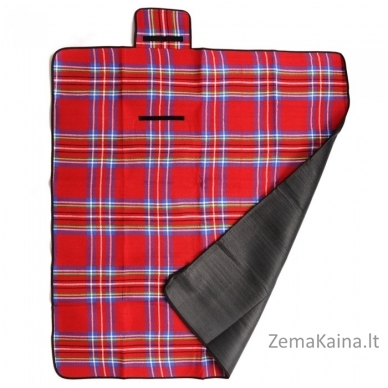 Pikniko kilimėlis METEOR, raudonas 2
