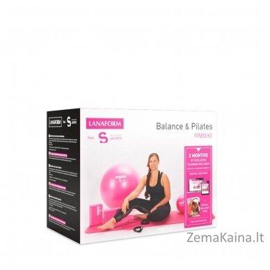 Pilateso priemonių rinkinys Lanaform Balance & Pilates 4