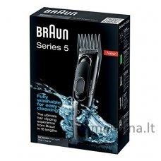 Plaukų kirpimo mašinėlė Braun HC5050