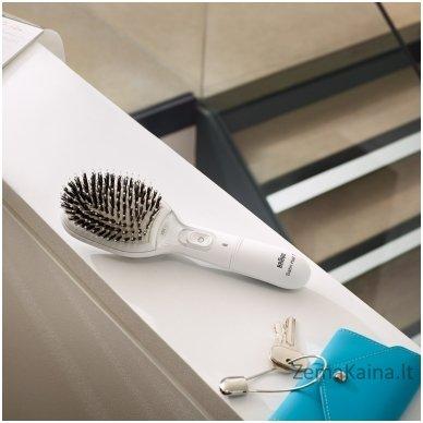 Plaukų šepetys Braun Ionic BR750 White 5