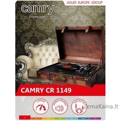 Plokštelių grotuvas CAMRY CR 1149 8