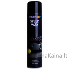 Poliravimo vaškas Speed Wax 600ml, BL aerozolis, Motip