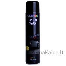 Poliravimo vaškas Speed Wax 600ml, BL aerozolis, Motip