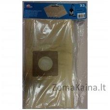 Popieriniai maišeliai ABR333 dulkių siurbliui LEMAN LOASP306, 5 vnt.
