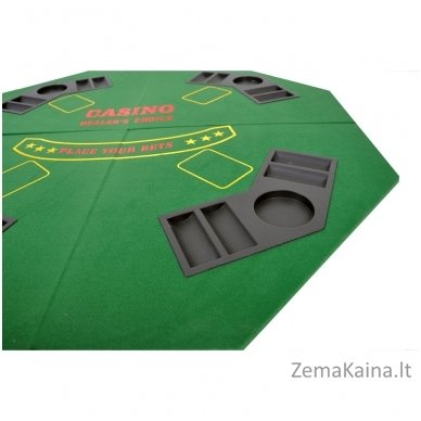 Pokerio stalviršis 4 žaidėjams Spartan 2